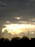 Luz lejana foto de archivo