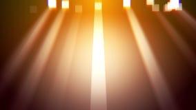 Luz limpia de los rayos del oro