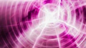 Luz lisa abstrata - fundo cor-de-rosa com relâmpago Ilustração Stock