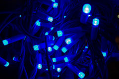 Luz llevada electrónica Foto de archivo libre de regalías
