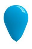 Luz lustrosa - balão azul imagens de stock royalty free