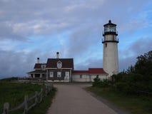 Luz mA de Cape Cod fotografía de archivo libre de regalías