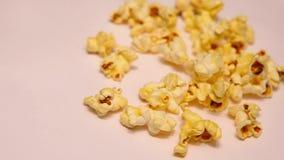 Luz macra del estudio de la cantidad de la palomitas de maíz metrajes