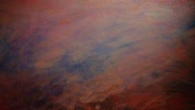 Luz mezclada abstracta del flujo de las pinturas del efecto frío del espacio almacen de metraje de vídeo