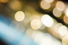 Luz mágica na noite Fotos de Stock