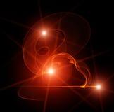 Luz misteriosa Imagen de archivo libre de regalías