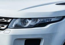 Luz moderna do carro Fotografia de Stock