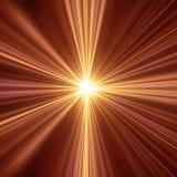 Luz morna Imagens de Stock