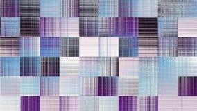 Luz - mosaico azul com mover-se rápido borrado ilustração stock