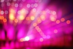 Luz multi-colorida sumário no fundo de fase imagens de stock royalty free