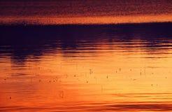 Luz nórdica del verano Foto de archivo libre de regalías