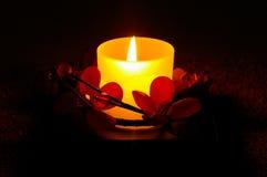 Luz na escuridão Imagens de Stock Royalty Free