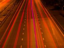 Luz na estrada Foto de Stock
