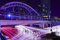 Luz na estrada. Fotos de Stock Royalty Free