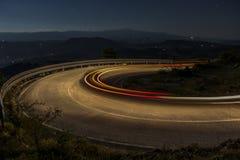Luz na estrada Foto de Stock Royalty Free