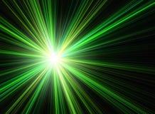 Luz na extremidade Fotos de Stock
