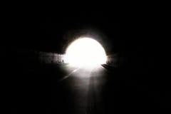Luz na extremidade de um túnel Foto de Stock Royalty Free