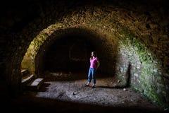 Luz na extremidade do túnel Imagem de Stock