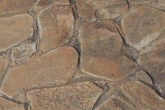 Luz natural do dia da textura das pedras Foto de Stock Royalty Free