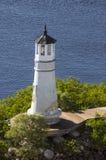 Luz ningún de Seddon 1 - isla del puerto Fotos de archivo