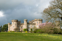 Luz no castelo Imagem de Stock Royalty Free
