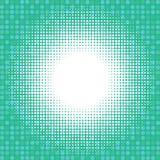 Luz no fundo digital verde ilustração do vetor