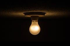 Luz no meio da escuridão Fotografia de Stock