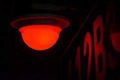 A luz no parque de estacionamento subterrâneo Foto de Stock