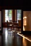 Luz no quarto imagem de stock