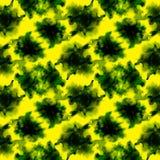 Luz - o verde espirra o teste padrão ilustração do vetor