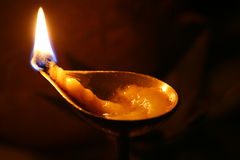 Luz - oração Foto de Stock
