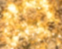 Luz ou Garland Lights de Natal no fundo natural imagem de stock royalty free