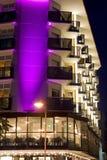 Luz púrpura Foto de archivo libre de regalías