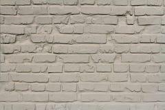 Luz - parede de tijolo cinzenta Foto de Stock Royalty Free
