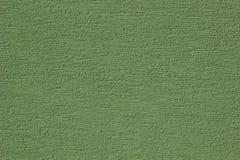 Luz - parede verde com textura do relevo Fotografia de Stock Royalty Free