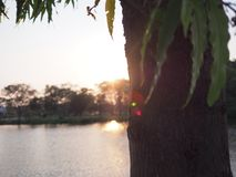Luz pasada Imagenes de archivo