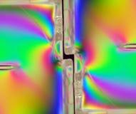 Luz polarizada Imagenes de archivo