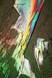 A luz polarizada faz o gleam das cores ilustração stock