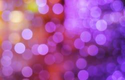 Luz - pontos roxos Foto de Stock Royalty Free