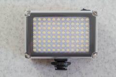 Luz portátil del LED Fotografía de archivo libre de regalías