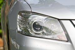 Luz principal del coche Fotografía de archivo