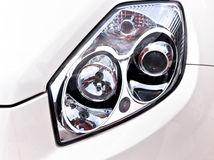 Luz principal do carro Imagens de Stock