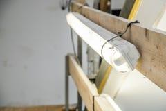 Luz provisional durante la renovación Fotografía de archivo