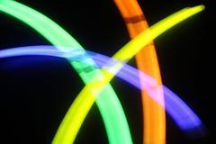 Luz química - fondo borroso Fotografía de archivo