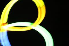 Luz química - fondo borroso Fotos de archivo libres de regalías