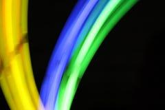Luz química - fondo borroso Imagenes de archivo