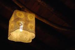 Luz rústica fotografia de stock