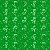 Luz - respingo verde Fotos de Stock Royalty Free