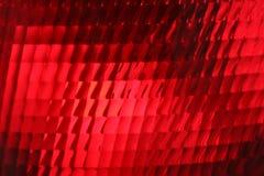 Luz roja de la parada, cierre para arriba Foto de archivo libre de regalías