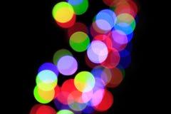 Luz roja la celebración ligera ideal Fotos de archivo libres de regalías